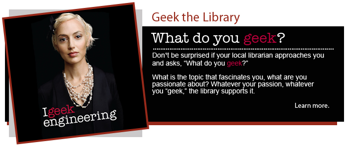 Geek the Library – Engineering